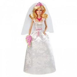 Barbie Princesa Novia - Envío Gratuito