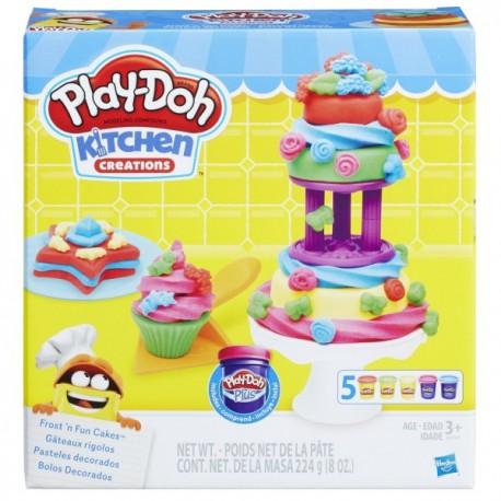Play Doh - Pasteles Decorados - Envío Gratuito