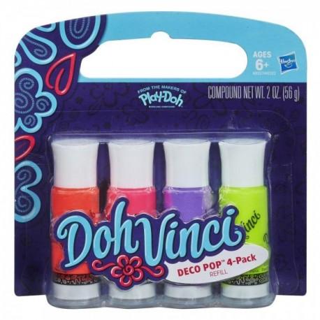 4 Pack Repuesto Doh Vinci - Envío Gratuito