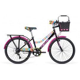 Bicicleta Capressi Negra - Mercurio