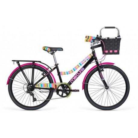 Bicicleta Capressi Negra - Mercurio - Envío Gratuito