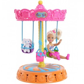 Barbie Chelsea Vueltas Carrusel - Envío Gratuito