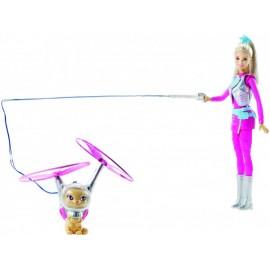 Barbie y Mascota Aventura Espacial - Envío Gratuito