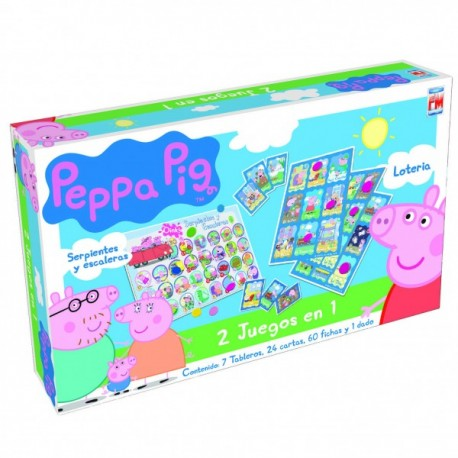 Peppa Pig 2 en 1 - Envío Gratuito