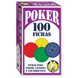 100 Fichas Poker