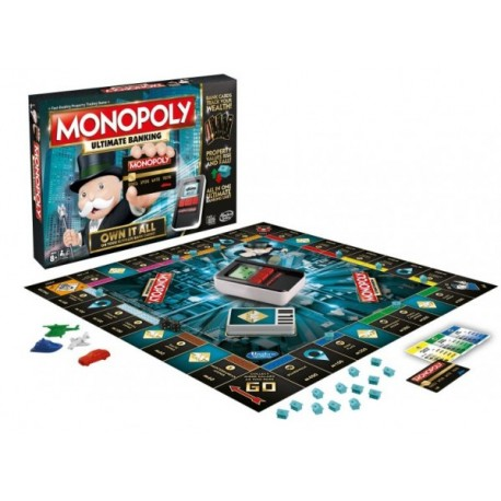 Monopoly Banco Electronico - Envío Gratuito
