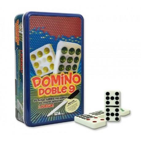 Domino de Colores Doble 9 - Envío Gratuito