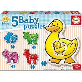 Baby Puzzle Granja
