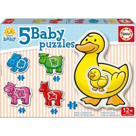 Baby Puzzle Granja - Envío Gratuito
