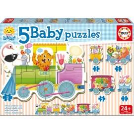 Baby Puzzle Tren de los Animales - Envío Gratuito