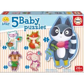 Baby Puzzle Animalitos - Envío Gratuito