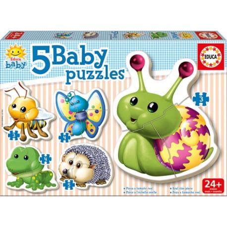 Baby Puzzle Animales del Bosque - Envío Gratuito