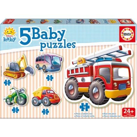 Baby Puzzle Vehículos - Envío Gratuito