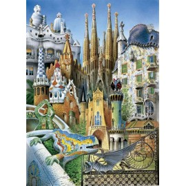 Gaudi Miniature - Rompecabezas