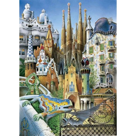 Gaudi Miniature - Rompecabezas - Envío Gratuito