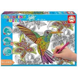 Rompecabezas Hummingbird - Colouring