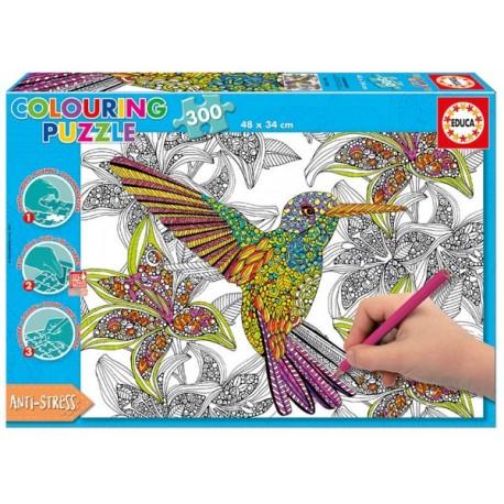 Rompecabezas Hummingbird - Colouring - Envío Gratuito
