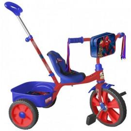 Triciclo Spiderman con Bastón - Envío Gratuito