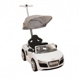 Push Car Audi Blanco - Envío Gratuito
