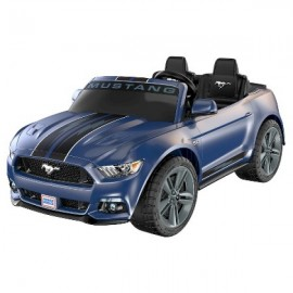 Mustang Azul - Smart Drive Power Wheels - Envío Gratuito