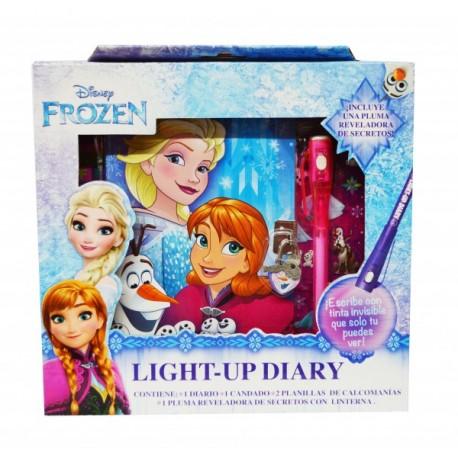 Diario de Luz Frozen - Envío Gratuito