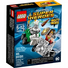 Wonder Woman Vs Doomsday - Lego - Envío Gratuito