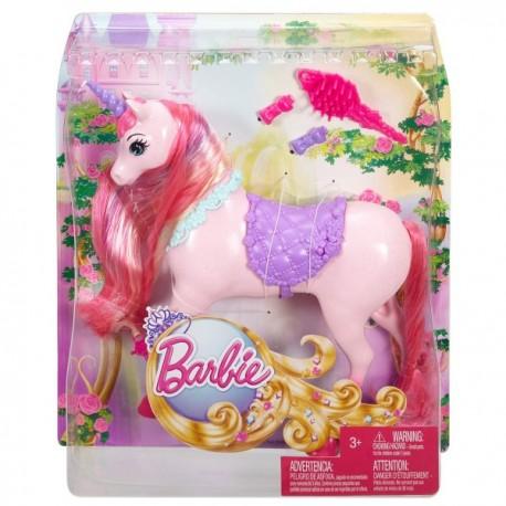 Unicornio Barbie  Reino Peinados Magicos - Envío Gratuito