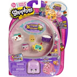 Shopkins Temporada 5 - 5 Pzas