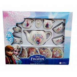 Juego de Té Ceramica Frozen