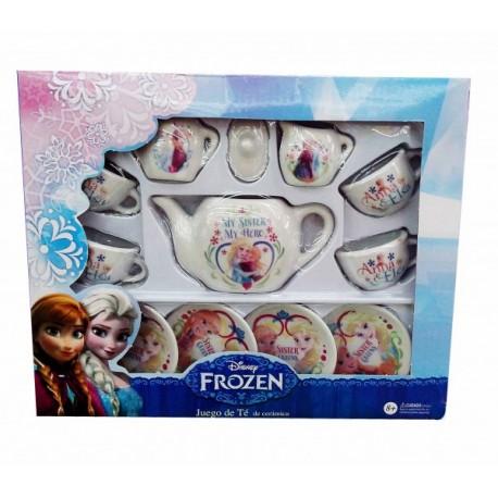Juego de Té Ceramica Frozen - Envío Gratuito