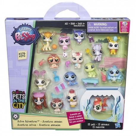 Paquete Mascotas - Littlest Pet Shop - Envío Gratuito