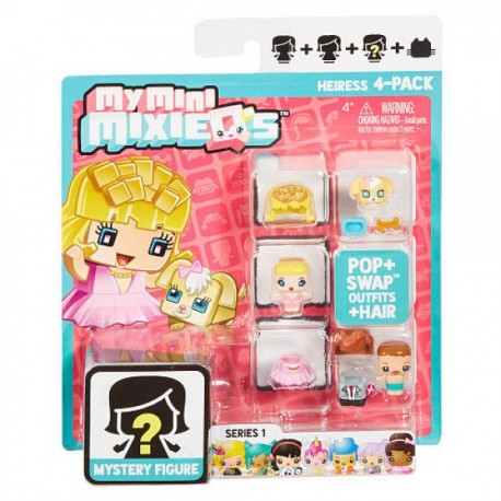 My Mini Mixieqs Pack 4 - Envío Gratuito