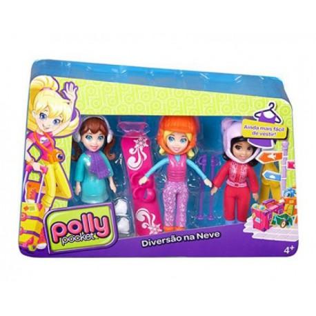 Polly Pocket Súper Vacaciones 3 Pack - Envío Gratuito