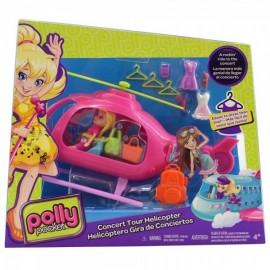 Polly Poocket Helicóptero Gira De Conciertos
