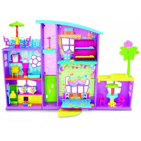 Polly Pocket Mega Casa de Sorpresas - Envío Gratuito