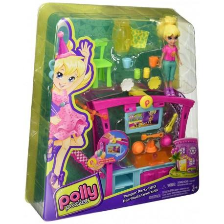 Polly Pocket Parrillada Divertida - Envío Gratuito
