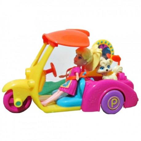 Polly Pocket  Vehiculo de Aventura Surtido - Envío Gratuito