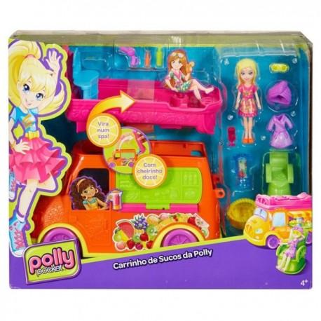 Polly Pocket Vehiculo de Aventura de Frutas. - Envío Gratuito