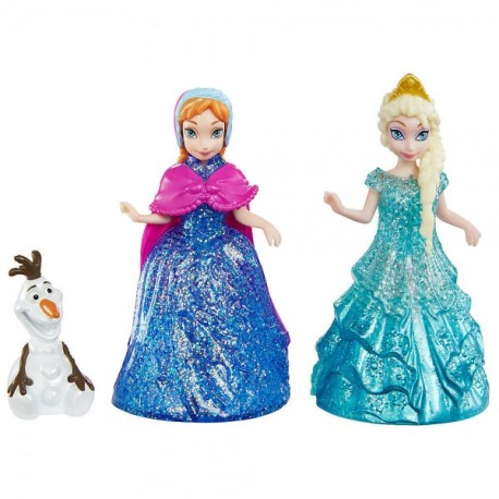 Set Anna, Elsa y Olaf - Envío Gratuito