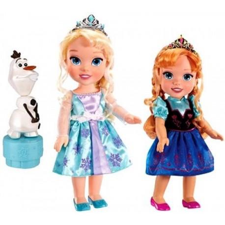 Set Anna y Elsa con Olaf - Envío Gratuito