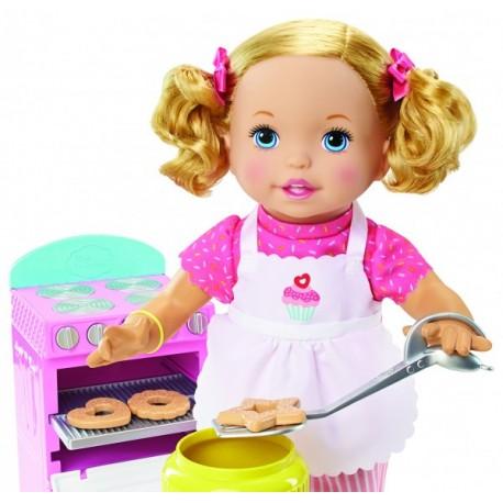 Little Mommy Preparando Galletas - Envío Gratuito