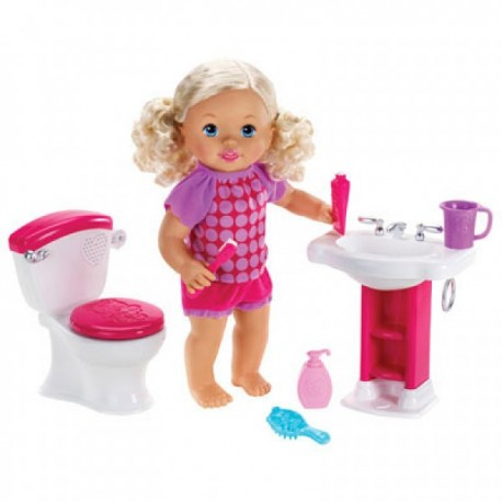 Little Mommy Bebita Interactiva Hora de Ir al Baño - Envío Gratuito