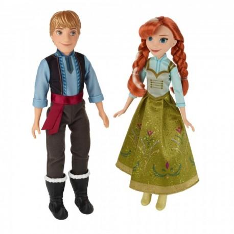 2 Pack Anna y Kristoff Frozen - Envío Gratuito