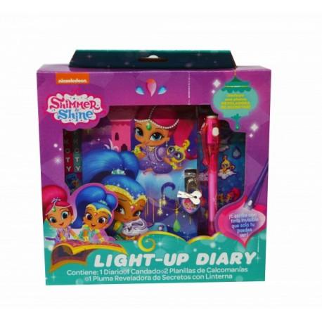Diario de Luz - Shimmer & Shine - Envío Gratuito