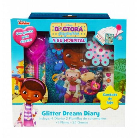 Diario Glitter - Dra. Juguetes - Envío Gratuito