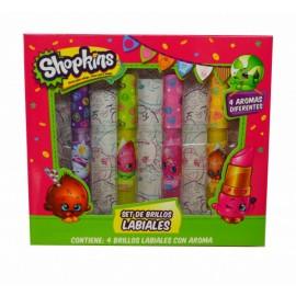 Set Brillo Labial - Shopkins